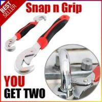Sale! Snap N Grip 9-32 Mm Kunci Inggris Serbaguna Multifungsi Grip
