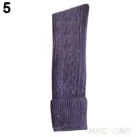 S/32 Kaos Kaki Snow Thigh Stocking High Mid Women - Blue