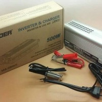 Genset Mini Inverter 500 watt anti Mati listrik DC 12V ke AC 220V