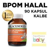 Jual Blackmores Glucosamine Sulfate 1500mg 90 kapsul BPOM KALBE Sehat Sendi Murah