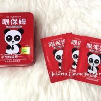 [ Sashetan / ecer ] BIOAQUA PANDA RED EYE MASK / MASKER Berkualitas