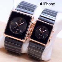Jam Tangan Murah Couple Apple Watch Touch Rantai Iphone Tanggal A