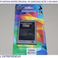 battery baterai ori 99 samsung galaxi note 3 N9000 SM-N900