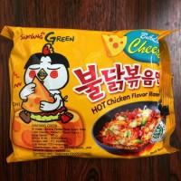 Jual SAMYANG / BULDAK CHEESE 140G / HOT CHICKEN RAMEN / MIE KOREA / PEDAS Murah