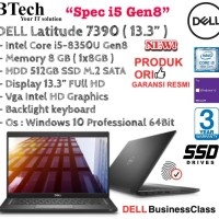 """DELL Latitude 7390 ( 13.3"""" Inch ) Core i5-8350U Gen8 With SSD 512GB"""