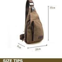 Jual Bodypack Bag Tas Selempang Pria / Men Sling Shoulder Bags murah