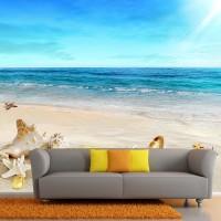 Wallpaper Custom Motif Pantai