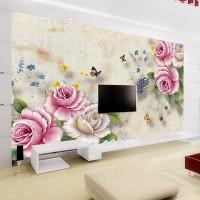 Wallpaper Custom Motif Floral