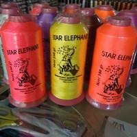 Benang Bordir Polyester Star Elephant 150gr