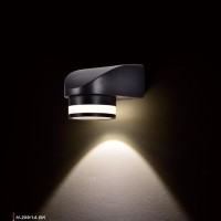 h209 lampu dinding taman hias led sorot wall light 5w pagar waterproof