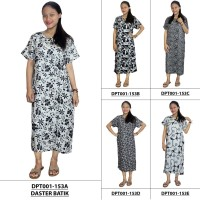 Jual Daster Lengan Pendek Batik ,Kancing ,Daster Bumil-Busui (DPT001-153) Murah