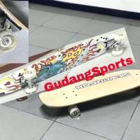 Silverfox Skateboard Canadian Maple 32 x 8,5