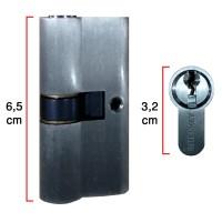 Silinder Kunci Pintu Aluminium - Merk: Interkey