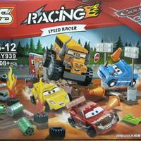 Thunder Hollow Crazy 8 Race Blocks lego CARS McQueen Mainan Bricks