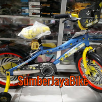 sepeda BMX 16 wimcycle minion