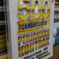 buku 500 CONTOH SURAT PERJANJIAN KONTRAK