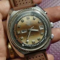 jam tangan original vintage jadul Orient King Diver Diameter gede