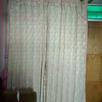 Harga hordeng gorden tebal lipat bermotif kamar jendela | Pembandingharga.com