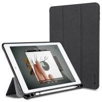 Case iPad Pro 10.5 Leather Case Smart Cover With Apple Pencil Holder