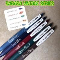 ATK0502SR Vintage Series Pulpen Gel Sarasa Zebra 0.5mm 0,5 pen
