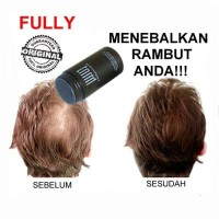 CAT RAMBUT (PENYUBUR RAMBUT) FULLY ORIGINAL HAIR BUILDING FIBER MENEBALKAN RAMBUT ANDA HANYA DALAM 30 DETIK!!!