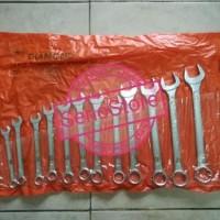 Promo Kunci Ring Pas Set 14 Pcs 8 - 24 Mm Diamond Hot