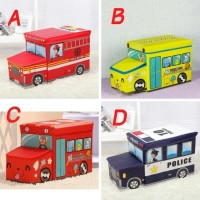 Sale! Toy Box Bus Kotak Mainan Bis (Storage Ice Cream Kursi Lucu