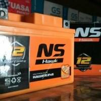 New! Aki Kering Ns 1Th Garansi Accu Sepeda Motor Manual Matic Honda