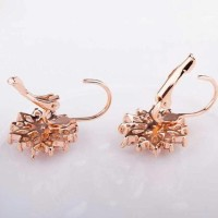 New! Anting Wanita Gold Rosegold Rose Mewah Berlian Diamond Swarovski