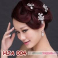 Promo Paket Hiasan Jepit Pesta L Aksesoris Rambut Wanita + Anting -
