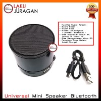 Mini Speaker Bluetooth Universal Portable Untuk HP Laptop Tablet PC