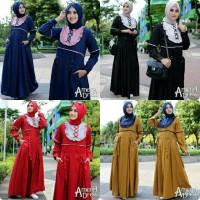 Baju muslim wanita Grosir gamis murah Pakaian hijab Amarel Dress 41