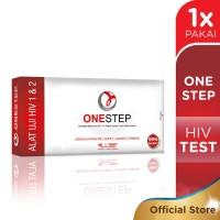 One Step HIV Test - cepat & akurat - mudah, dapat lakukan sendiri