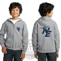 Jaket Hoodie Zipper Sweater New England Patriot Untuk Anak - ALTO MERC