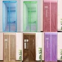 Tirai Pintu Magnet Coor Curtain Gorden Anti Nyamuk Geo Berkualitas