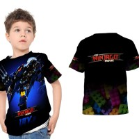 Kaos Baju Anak Fullprint Custom The Lego NINJAGO Movie 05