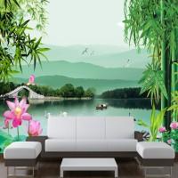 Wallpaper Custom Printing Motif Nature