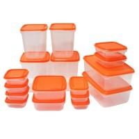 Promo A821 Ikea Pruta 17 Pcs Food Container Toples Penyimpanan Makanan