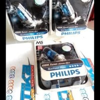 (Sale!!) Lampu Motor Philips M5 Bluevision Moto 4000K 12V 35W