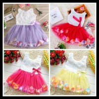 (New Arrival!!) Baju Gaun Pesta Bayi Anak Perempuan 01 02 03 04 05 06