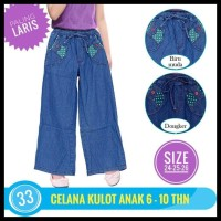 (Baru!!) Celana Panjang Anak Perempuan Celana Kulot Anak Jeans 01 02