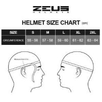 Helm Zeus Full Face ZS 811 AL6 Yamaha Blue Bonus Visor Unik