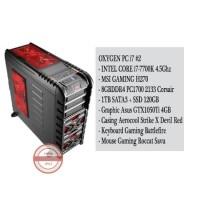 PC RAKITAN INTEL CORE i7-7700K 4.5Ghz #702