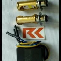 (Promo!!!) Lampu Led Motor Supra X 125 (H6 Led + Cvdc)
