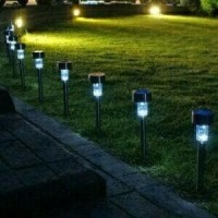 MURAH Lampu Taman Solar Mini LV Tanpa Listrik Tenaga Surya Unik Mura h