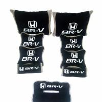 baru Honda BRV Bantal aksesoris mobil Hitam abu Part 4