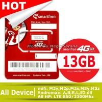 PERDANA SMARTFREN GSM 4G LTE KUOTA 13 GB hp handphone termurah