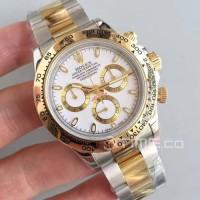 Jam Tangan Rolex Daytona Cosmograph Swiss Clone 1:1 White Dial