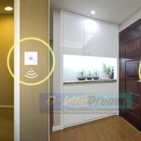 Saklar Dinding Sensor Gerak PIR Wall Switch Lampu Kipas Otomatis Infra