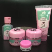 Cream Been Pink Acne / Been Pink Untuk Jerawat / Beenpink Paket Acne